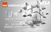 Wüstenrot BankKreditkarte - Kartenmotiv