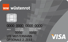 Wüstenrot Bank Visa Classic Logo